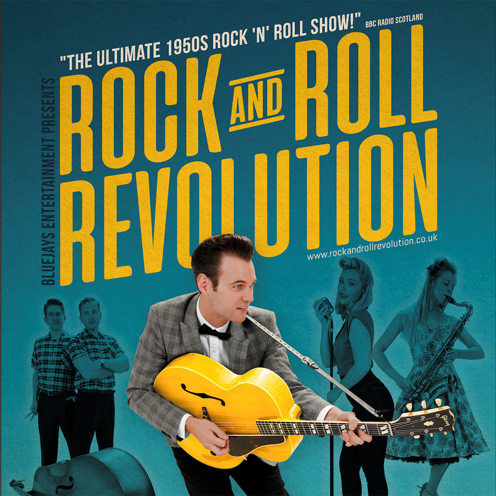 Rock and Roll Revolution with The Bluejays Palace Theatre Paignton