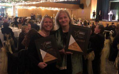 Double awards night!