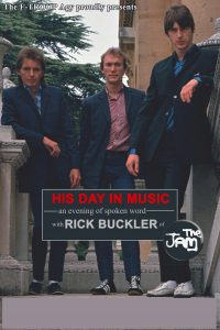 His Day in Music book cover Rick Buckler