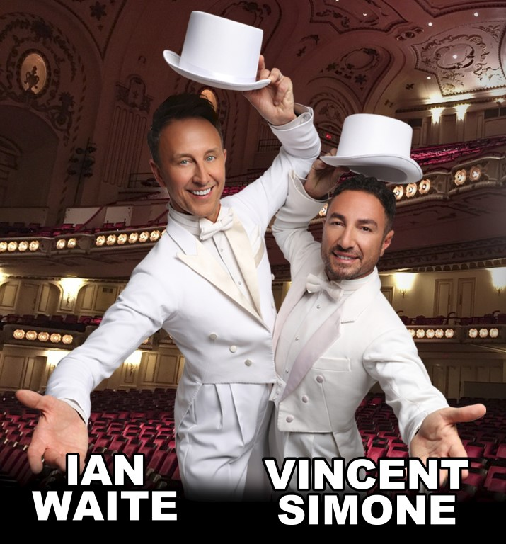 Ian Waite and Vincent Simone dancing Palace Theatre Paignton
