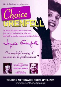 Choice Grenfell a tribute to Joyce Grenfell Palace Theatre Paignton