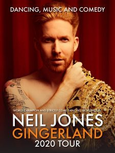 Strictly Coming Dancing star Neil Jones gingerland show Palace Theatre Paignton