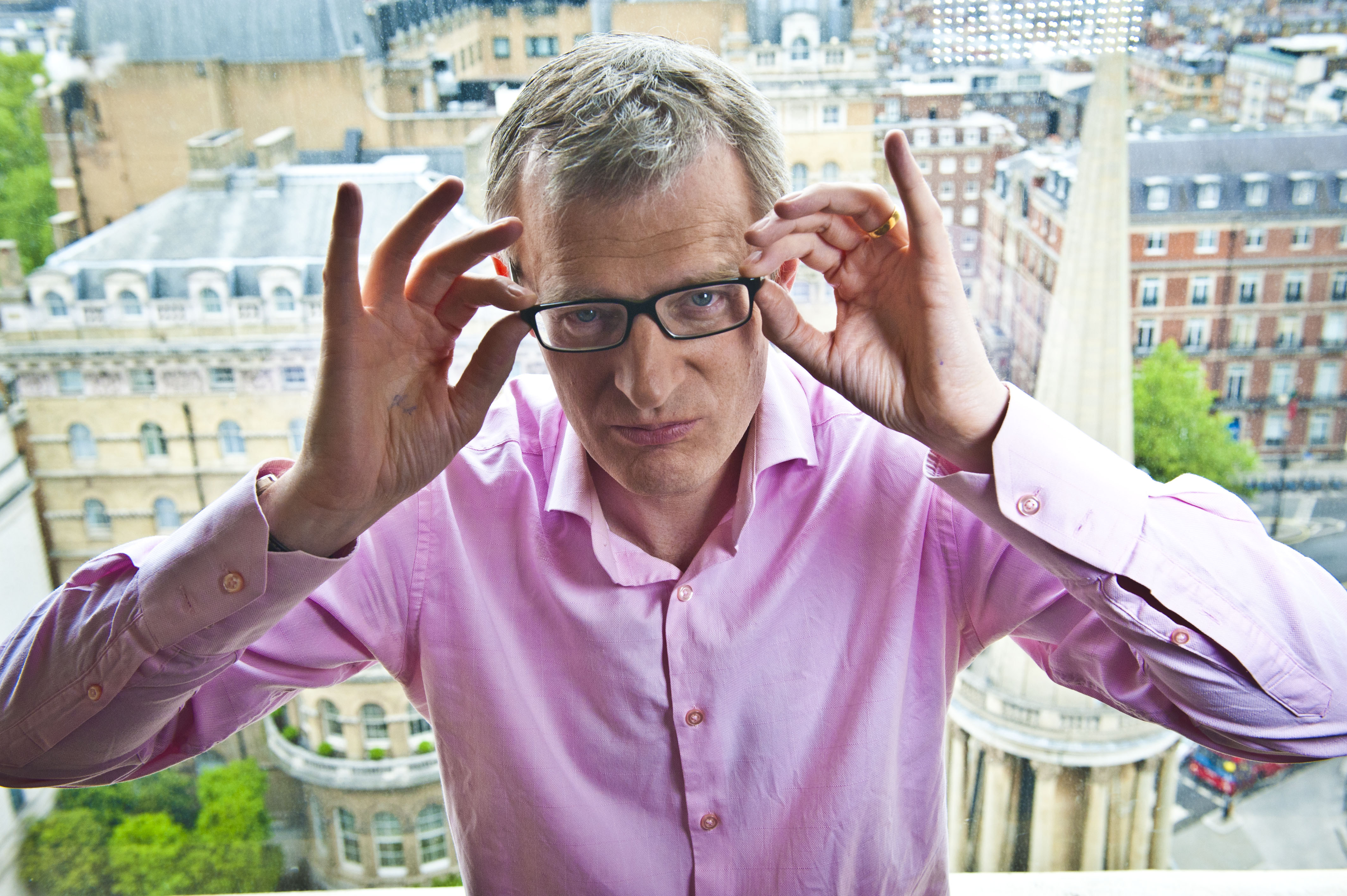 Jeremy Vine at The Heights near Broadcasting House