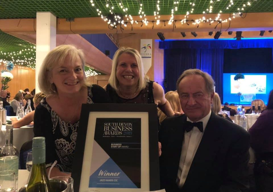 A Win for the Palace at the South Devon Business Awards 2019