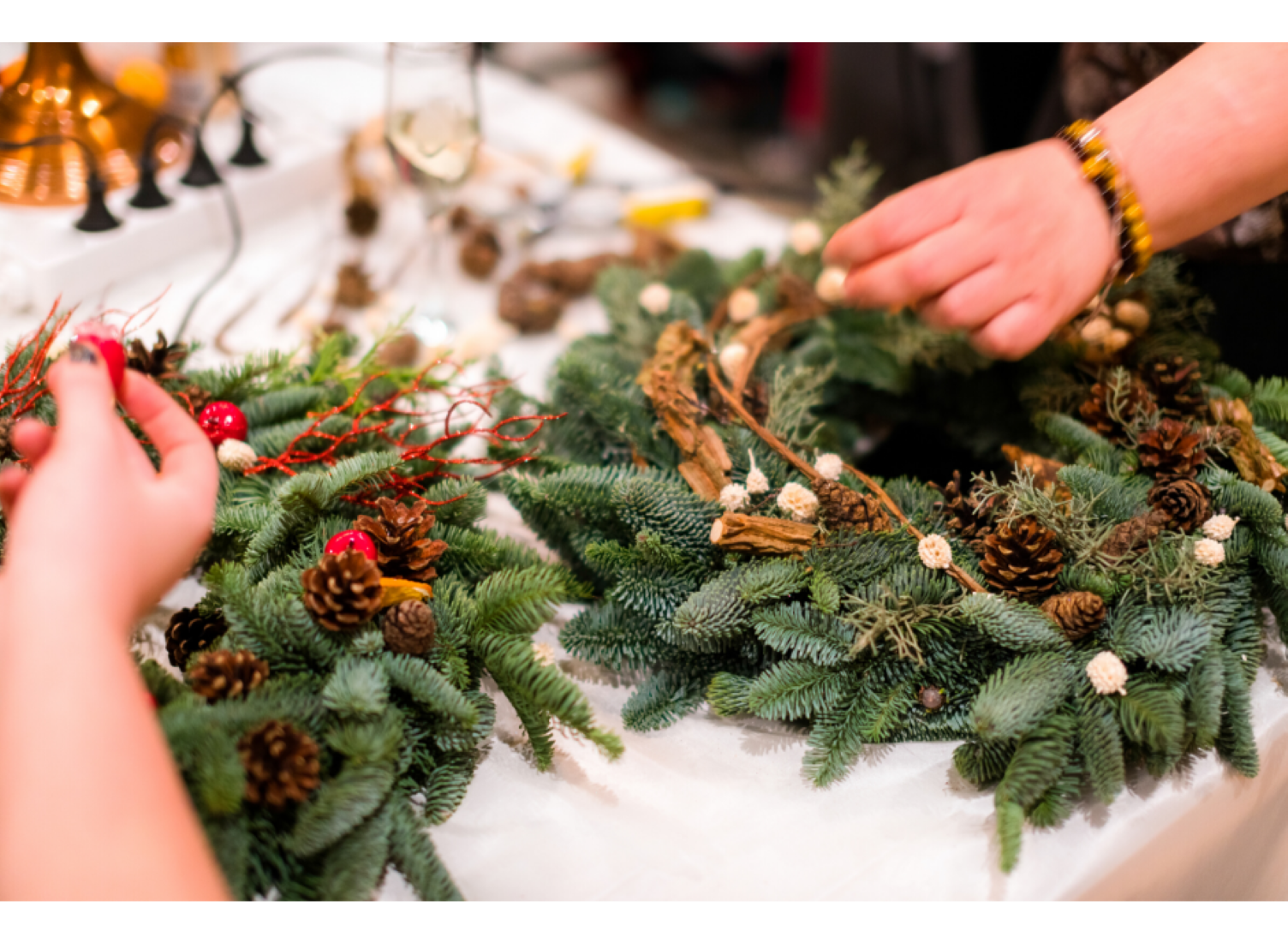 Christmas Wreath Workshops on sale