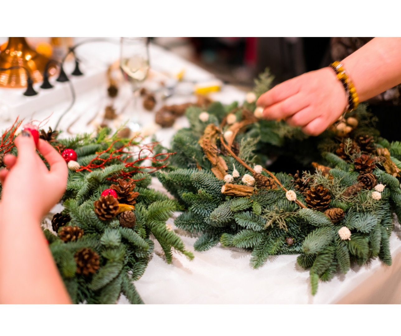 Wreath Making Workshops Events In Paignton The Palace Theatre Paignton
