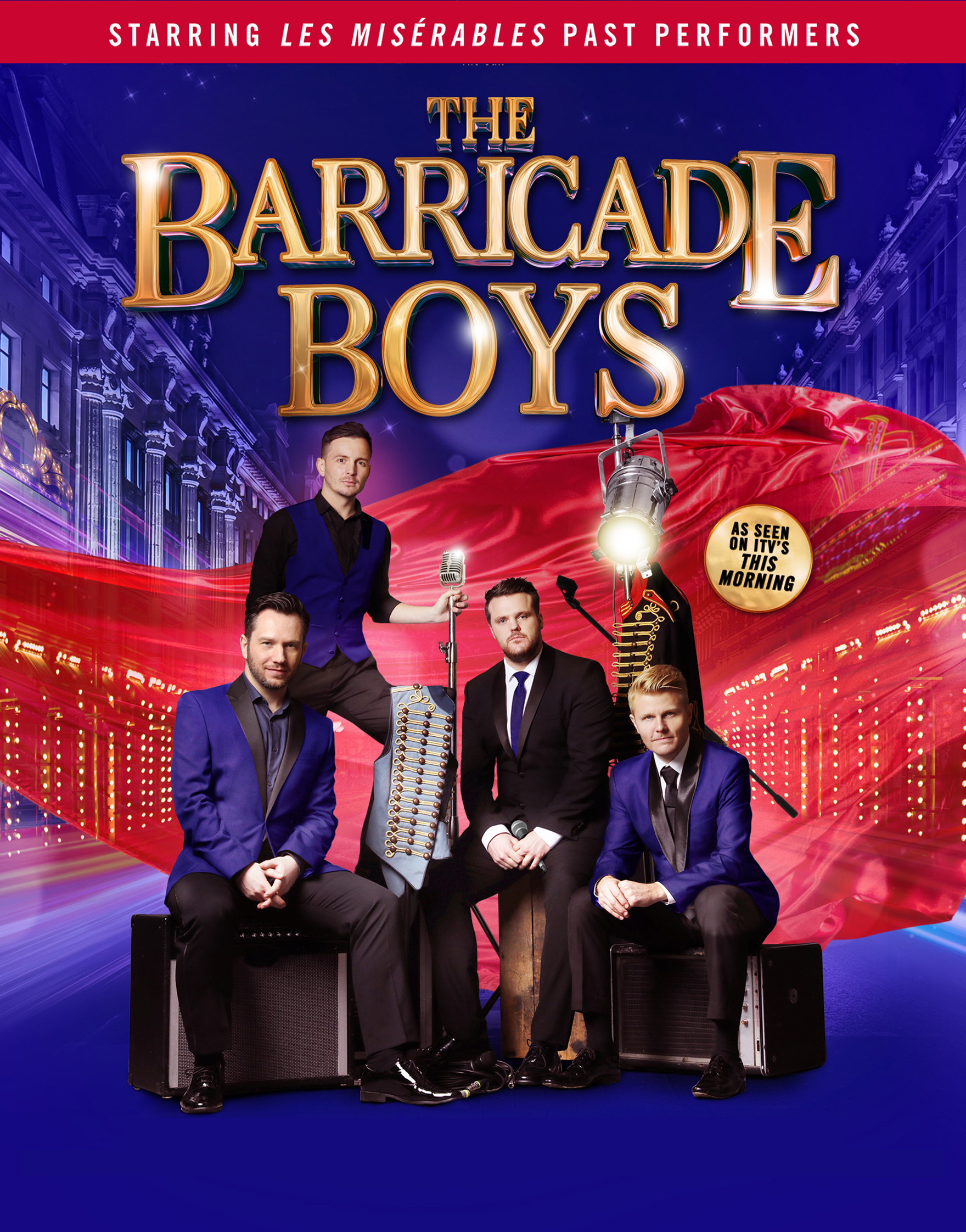 The Barricade Boys Palace Theatre Paignton