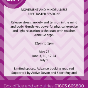 Movement and Mindfulness Fitness