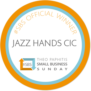 Jazz Hands team celebrates prestigious #SBS win