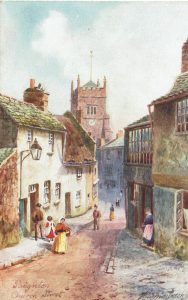Old image of Paignton town