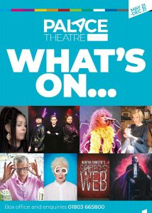 Palace Theatre Whats on cover with link to online brochure